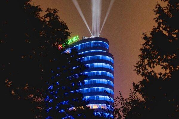 Budova centrály VÚB v Bratislave