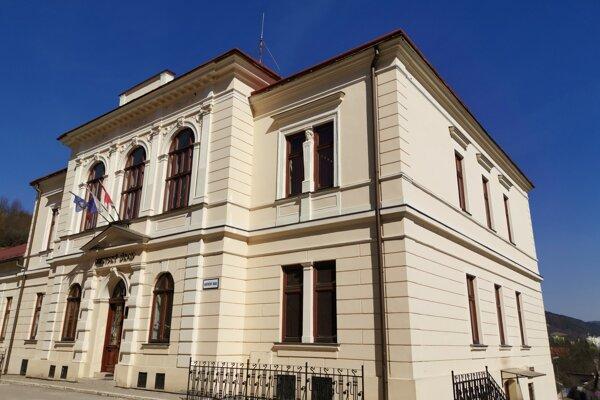Mestský úrad v Gelnici.