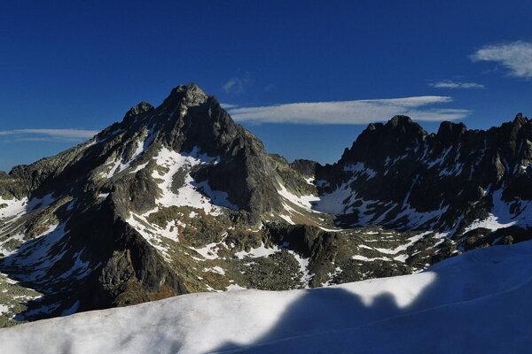 Pohľad na Vysokú z vrchu Tupej.