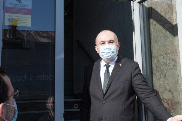 Predseda Správy štátnych hmotných rezerv Kajetán Kičura.