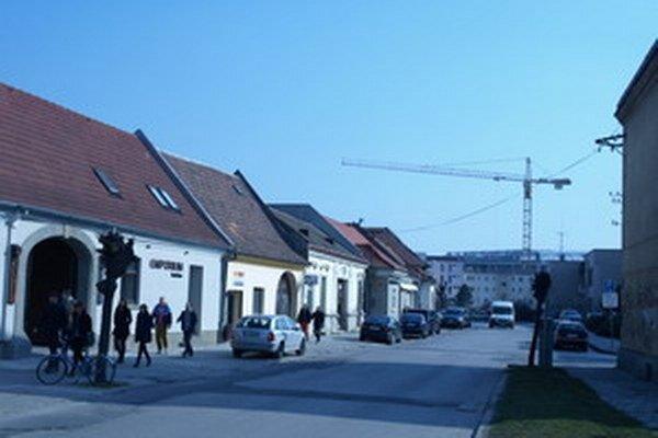 Halenárska ulica.