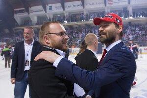 Pavol Gašpar (vľavo) a Vladimír Országh na ilustračnej fotografii.