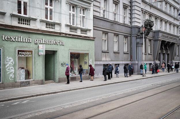 Galantéria v Bratislave.