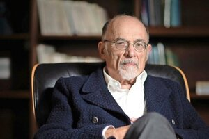 Americký psychiater a spisovateľ Irvinn David Yalom.