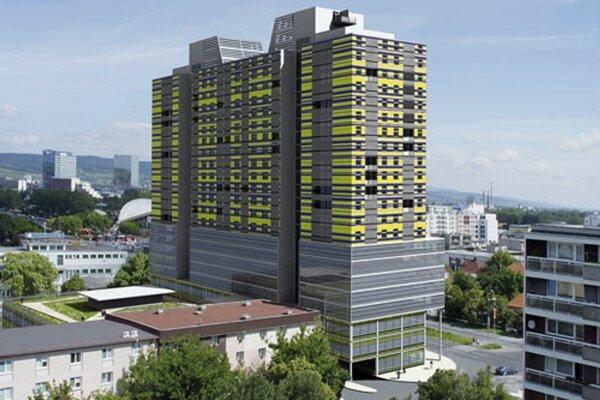 Pôvodná vizualizácia projektu Saida z roku 2007.