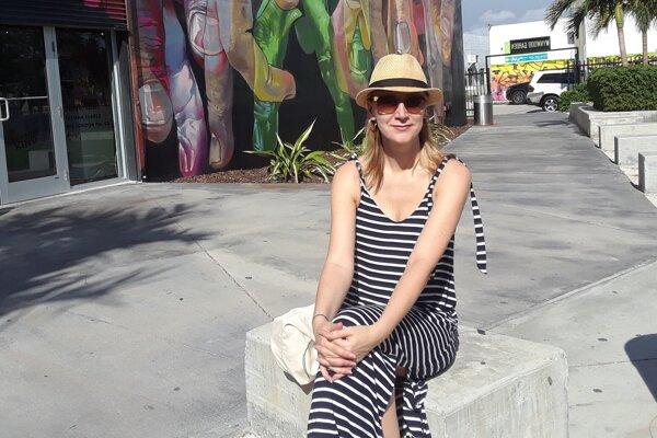 Adriana žije na Floride, o návrate na Slovensko pre ohrozenie koronavírusom neuvažuje.