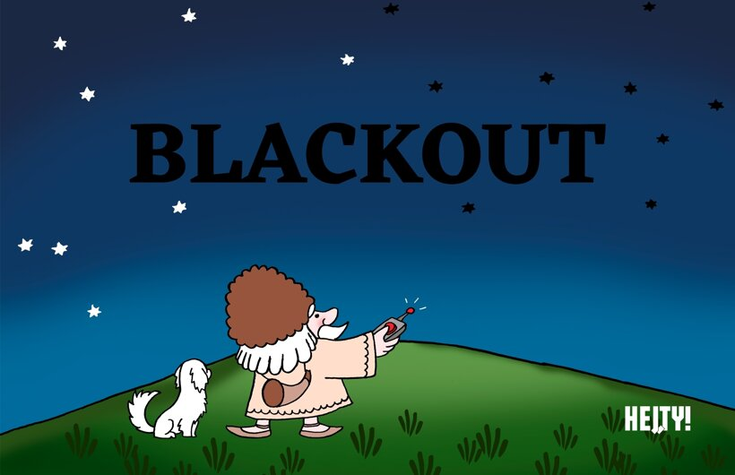 Deduško Blackout (Hej, ty!) 5. apríla