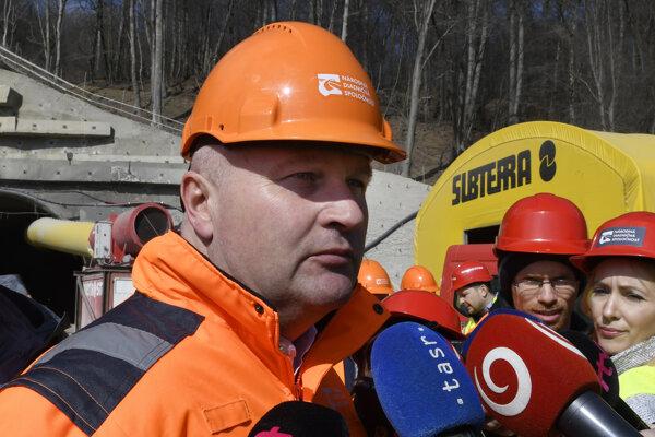 Dnes už bývalý generálny riaditeľ Národnej diaľničnej spoločnosti (NDS) Ján Ďurišin.