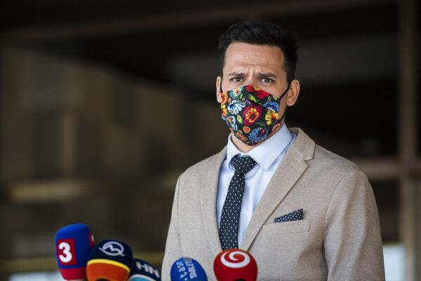 Predseda Výboru NR SR pre kultúru a médiá Kristián Čekovský.