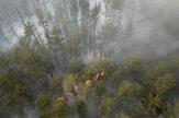 V uzavretej zóne okolo černobyľskej elektrárne horí les