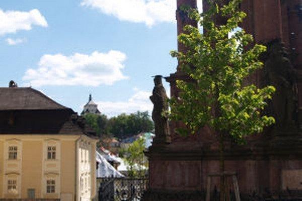 Historické jadro mesta.