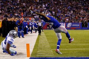 Odell Beckham Junior a jeho pamätný touchdown.