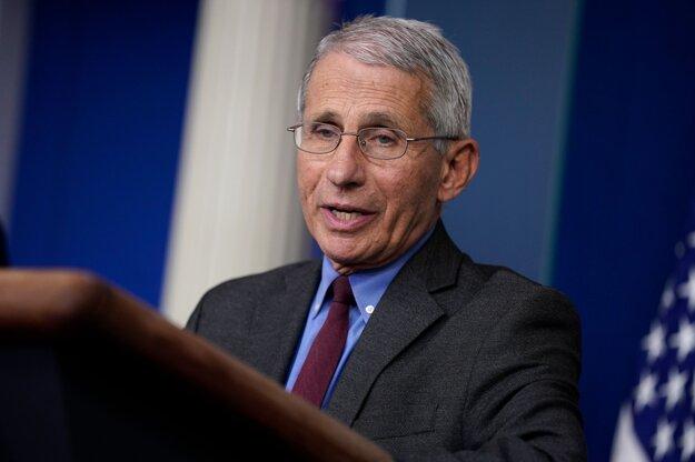Americký expert na infekčné ochorenia Anthony Fauci.