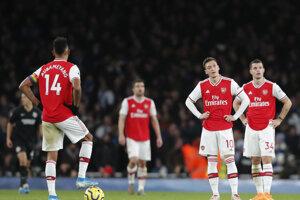 Hráči Arsenalu Londýn.