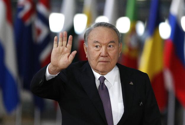 Kazašský exprezident Nursultan Nazarbajev.