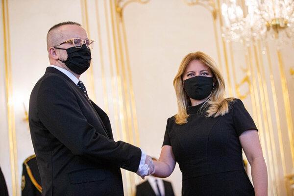Vladimír Pčolinský a Zuzana Čaputová.