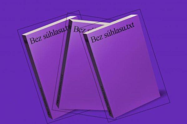 Kniha Bez súhlasu je štvrtou z edície .txt. Stoja za ňou tri kolektívy: Display.cz, APART a Kapitál.