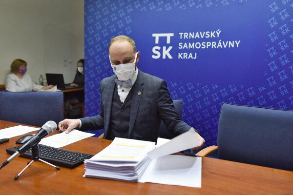 Jozef Viskupič, predseda Trnavského samosprávneho kraja.