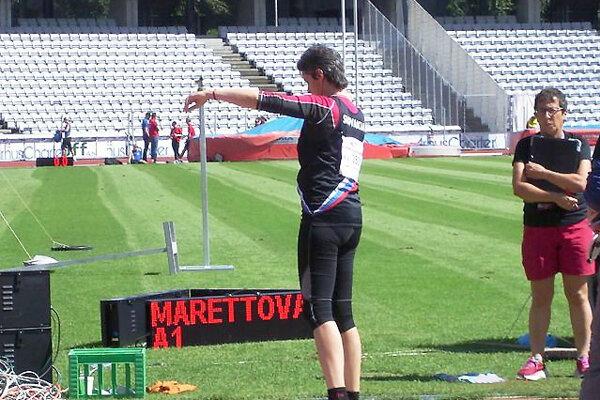 Katarína Marettová si obľúbila vrhačské disciplíny.