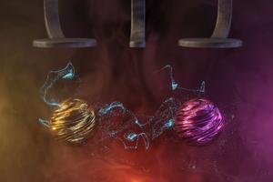 Ilustračný obrázok. Vedci našli spôsob, ako používať qubity pri vyššej teplote ako doteraz. Objav môže posunúť vývoj kvantových počítačov vpred.