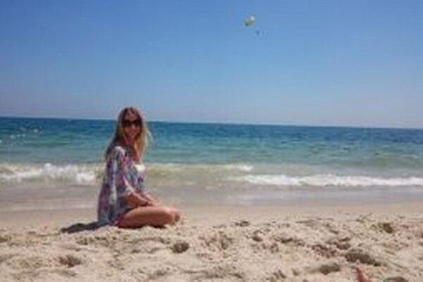 Foto z dovolenky v Tunise. Vtedy ešte Lea netušila, čo sa stane.