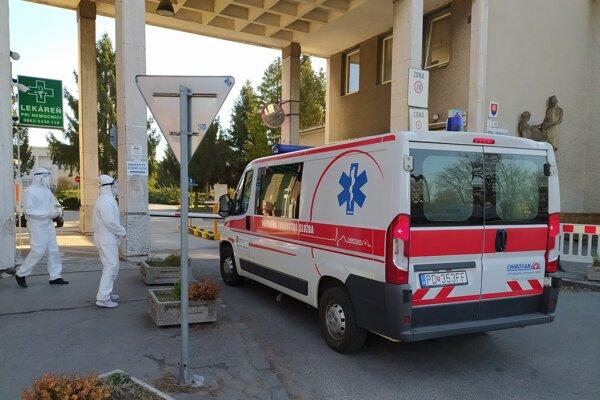 Bojnická nemocnica. Ilustračné foto