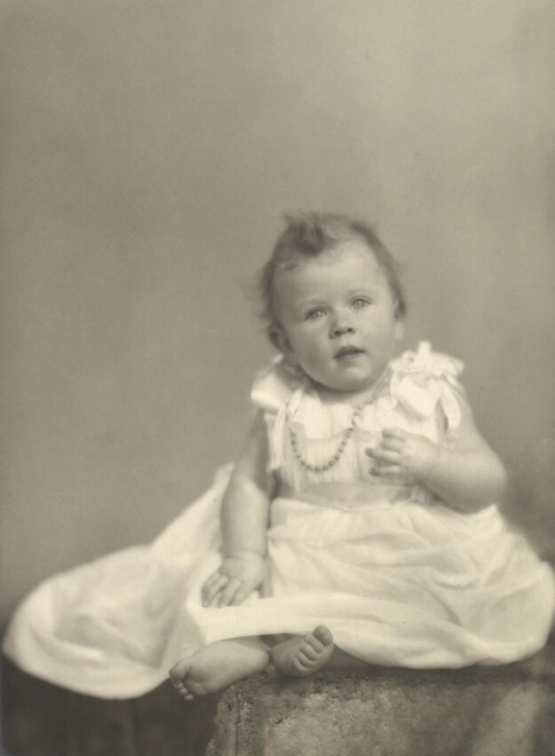 Na snímke z roku 1926 vtedajšia princezná Alžbeta.
