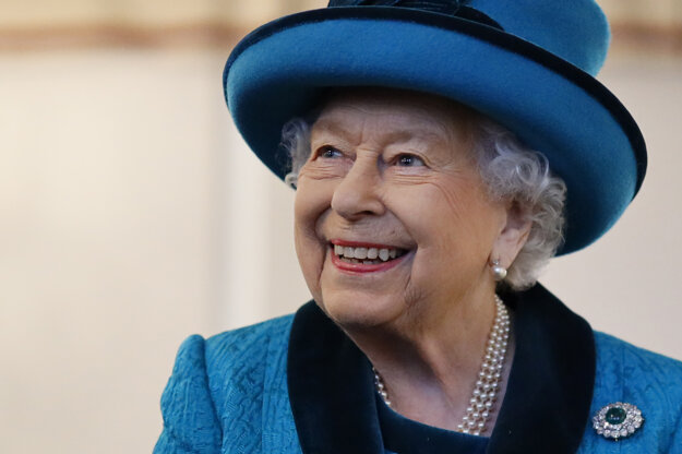 Na snímke z 26. novembra 2019 britská kráľovná Alžbeta II.