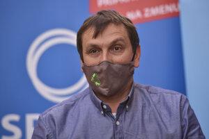 Novozvolený predseda Spolu Juraj Hipš.