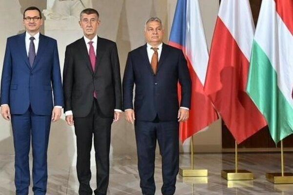 Premiéri Poľska, Česka a Maďarska.