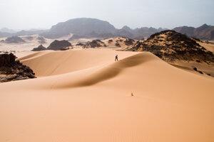 Časť Sahary zvaná Tadrart Akakus.