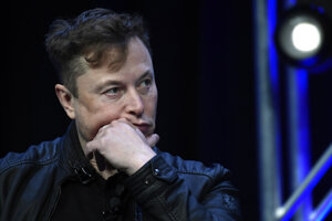 Šéf spoločnosti Tesla Elon Musk.