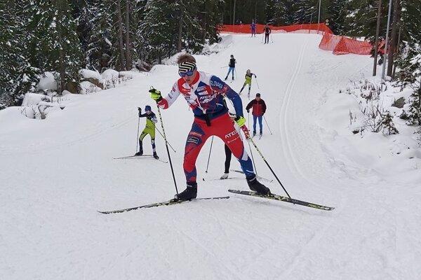 Matej Badáň prvý rok súťažil v kategórii od 17 do 19 rokov.