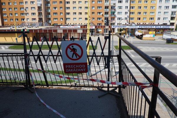 Rampu na sídlisku Šváby už demontovali. Čoskoro postavia novú.