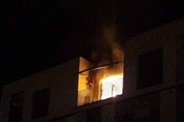 Takto horel byt na Súľovskej ulici.