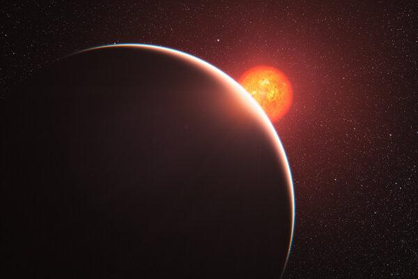 Ilustračná fotografia. Analýza atmosfér vzdialených planét môže odhaliť prítomnosť minulého alebo súčasného života. Vedci v novej štúdii hovoria, že sa oplatí zamerať na svety s vodíkovou atmosférou.