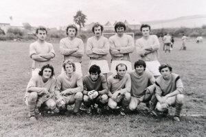 Mužstvo Liesku z roku 1979.