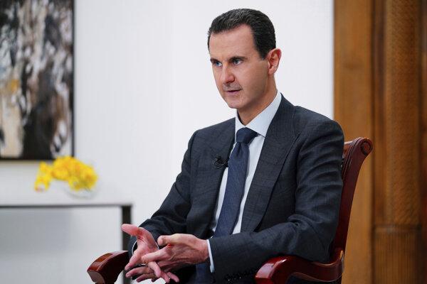 Sýrsky prezident Bašár Asad.