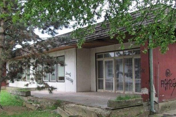 Bývalá budova škôlky.