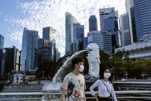 Obyvatelia Singapuru.