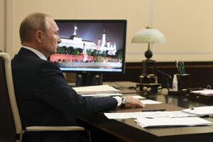 Vladimir Putin sa prihovára občanom.
