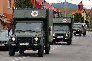 Vojenské testovacie tímy prichádzajú na Dreveník.