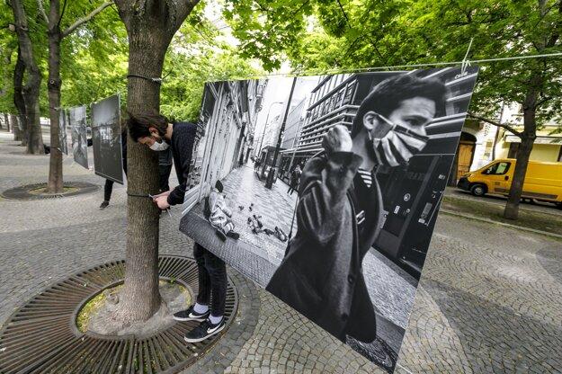 Výstava Mestá bez nás v Bratislave.