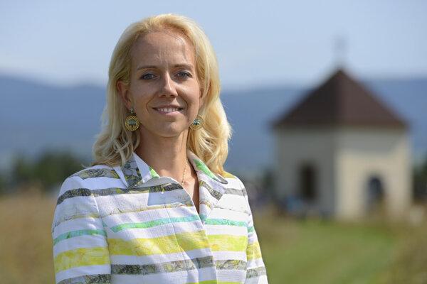 Riaditeľka Košice Región Turizmus Lenka Vargová Jurková.