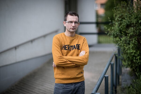 Učiteľ a špeciálny pedagóg Viktor Križo.