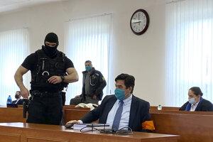 Obžalovaný Marian Kočner na súde v prípade vraždy Jána Kuciaka a Martiny Kušnírovej.