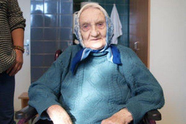 Aj po v jej veku náročnej operácii je Veronika Beličková pozitívne naladená.