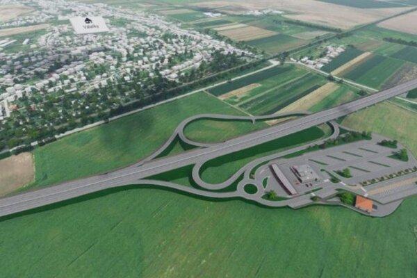 Juhovýchodný obchvat mesta bude prepájať diaľnicu D1 s úsekom R4 Košice – Milhosť.