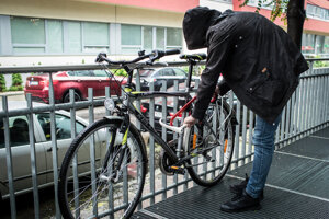 Krádež bicykla. Ilustračné foto.