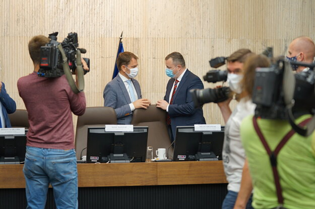 Rokovanie Hospodárskej a sociálnej rady 21.5.2020.